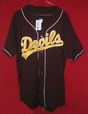 Vintage New with Tag NCAA Wilson Arizona State Sun Devils Baseball Jersey Size L