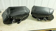 06 Kawasaki VN2000 F VN 2000 Vulcan leather saddlebags saddle bags