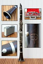 Vintage Wooden Imperial Clarinet With Case And Mouthpiece Bb?