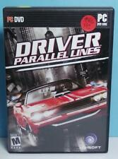 PC Games Driver Paralell Lines Original Small Box Version