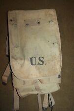 "Original WW1 U.S. Army M1910 Canvas Backpack ""RIA 1917"" Dated"