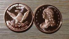 1oz Ounce Unze Kupfer Copper 999 Liberty USA capped Half 1804 Design 28,4 gramm