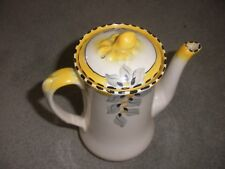 ART DECO COFFEE POT, BURLEIGH WARE, 1930S, IMMACULATE CONDITION, 19 CMS HIGH