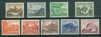 Deutsches Reich  730 - 738 , ** , * , o , Winterhilfswerk 1939