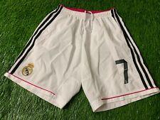 REAL MADRID SPAIN # 7 RONALDO 2014/2015 FOOTBALL SHORTS HOME ADIDAS ORIGINAL