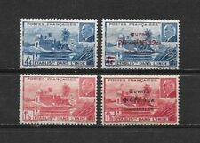 French INDIA 1941 Pétain. 1944 Colonial works  Complete set 4 new stamps* (5140