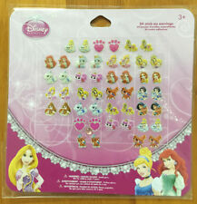 princess 1 sheets 24 pairs OF GIRL STICK ON EARRINGS stick-on ring stickers N-02