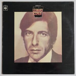 Leonard Cohen - The Songs Of Leonard Cohen -  Vinyl Record / LP.