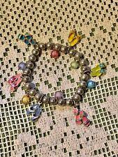 Costume Childs Whimsical Woman's Hippy Metal Ball Summer Sandel Bracelet Jewelry
