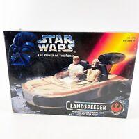Vintage Star Wars Power Of The Force POTF Landspeeder 1995 Kenner No. 69770 NIB