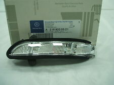 Genuine Mercedes-Benz CLS E-Class LH Indicator repeater Lamp A2198200521 NEW
