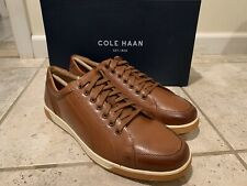 New Cole Haan Size 10 Berkley Casual Sneaker Oxford British Tan Cognac C30745