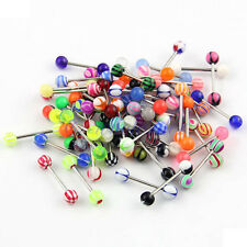 Wholesale 60 Different Tongue Nipple Ring Bar Body Jewelry Assorted JW 450 CG