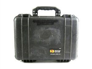 Pelican 1500 Carrying Case Black Crushproof Dustproof Watertight Protect+Foam