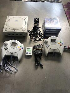 Sega Dreamcast Console Plus Games