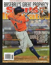 Sports Illustrated 2017 Special World Series Commemorative Issue Houston Astros