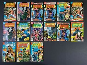 LAST ONES Lot of (15) Unknown Soldier (1977-81) #209-256 DC Comics More Listed