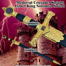 King Solomon Sword Medieval Crusader Dagger with Scabbard