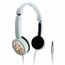 Forest Animals Pattern Moose Bear Wolf Portable Foldable On-Ear Headphones