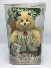 Fisher Price Briarberry Bear MollyBerry in Green Dress NIB