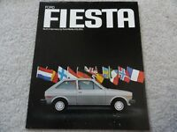 1978 Ford Fiesta Sales Brochure