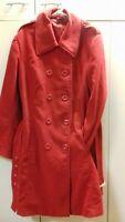 Manteau rouge croisé - taille 48/50
