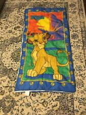 Vintage Disney Lion King Sleeping Bag Original 90s Simba Childrens Size