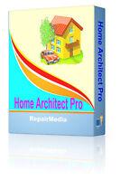 Architect Interior Design 2D/3D Home Builder Computer Designer Software PC DVD