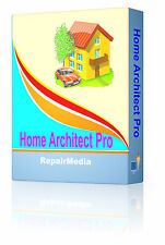 Architect Interior Design 2D/3D Home Builder Computer Designer Software PC DVD