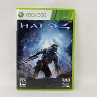 Halo 4 (Microsoft Xbox 360, 2012) Complete Tested Working