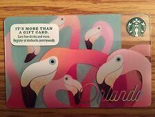 "HTF Starbucks ""Orlando"" Gift Card Never Swiped NO $ VALUE"