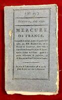 Gardes Suisses en 1790 Compagnie du Scioto USA Desmoulins Cavaillon Vaucluse