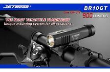 JETBeam BR10 GT USB Rechargeable LED Bike Headlight Flashlight+18650 Battery Bk