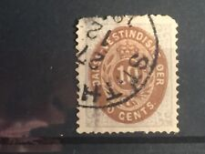SCOTTS #10 1874-79 DANISH WEST INDIES STAMP USED