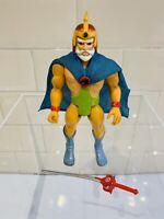 THUNDERCATS - Vintage Thundercats Jaga Figure 1987 Complete LJN *Action Works*