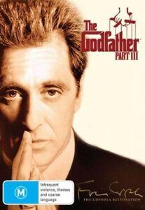 The Godfather - Part 3 DVD Al Pacino Gangster Movie Classic - REGION 4 AUSTRALIA