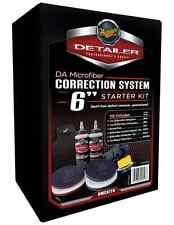 """Meguiar's DA Microfiber Correction Automotive Paint System 6"""" Kit, Free Apron"""