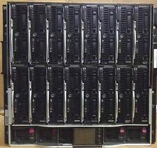 16 x HP ProLiant BL460c G6 2x Quad-Core Xeon E5540 2.53Ghz BL c7000 Blade Server