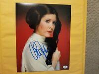 "Star Wars Carrie Fisher ""Princess Lea""Signed Photo Autographed COA"