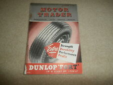 Motor trader magazine 1950..Period ads & equipment.  Auction / New car prices