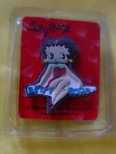 5 IN LOT BETTY BOOP PIN INDIVIDUALY WRAPED SOLD RETAIL AT HALLMARK STORES, NEW.