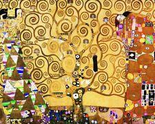 'L''albero della vita quadro - Stampa d''arte su tela telaio in legno'