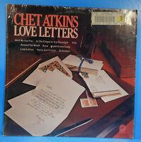 CHET ATKINS LOVE LETTERS VINYL LP 1977 SHRINK GREAT CONDITION! VG++/VG++!!