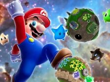 Mario Video Game Galaxy Wall Print POSTER FR