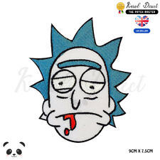 Rick And Morty  Embroidered Iron On Sew On PatchBadge For Clothes Bags Etc