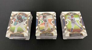 2020-21 Panini Select Baseball 100 Veteran Players Base Card Lot - Concourse