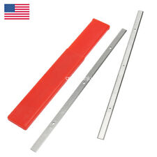 """12-1/2"""" Portable Planer Blades Knives for Delta 22-560 22-562 Double Edged 2 Set"""