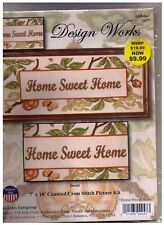 HOME SWEET HOME Counted Cross Stitch kit  Free shipping
