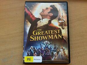 The Greatest Showman Hugh Jackman Zac Efron Michelle Williams Zendaya(DVD, 2017)