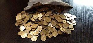 "1 фунт (450 г) 10 копеек Монета 1/10 рубль 1991 год ""М"" UNС"